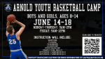 Arnold Youth Basketball Summer Camp, June 14-18