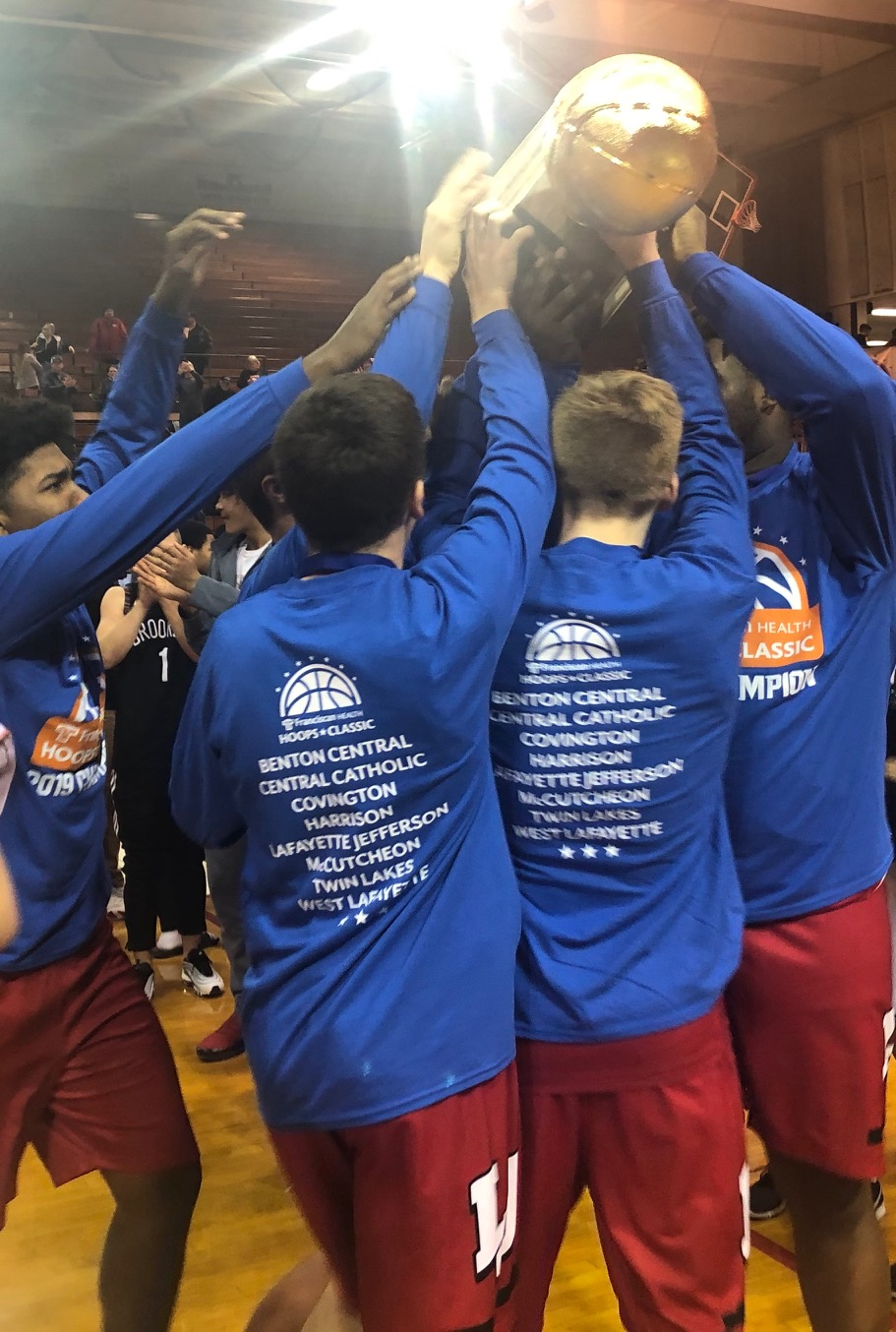 Lafayette Jeff Boys Basketball Takes Franciscan Health Hoops Classic Trophy
