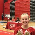 Julie-Ann Stephany Advances to IHSAA State Gymnastics