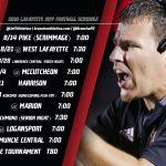 Lafayette Jeff Announces 2020 Football Schedule