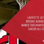 Brooks Barnhizer Named an Indiana Junior All-Star