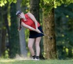 Girls Golf Advances to Regional; Wolf Earns Sectional Medalist