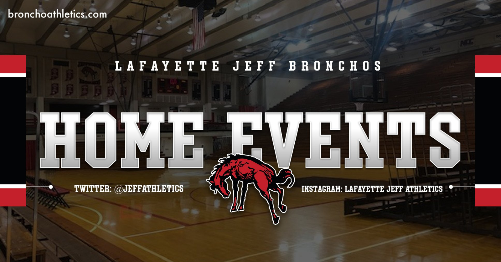 Lafayette Jeff Home Athletic Events Set for The Week