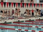 Lafayette Jeff Places in NCC Swimming; Hosted by LJHS
