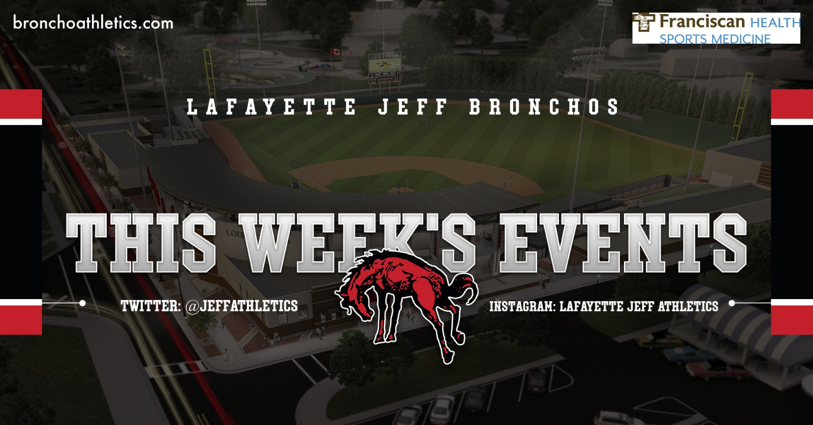 This Week in Broncho's Athletics