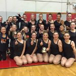 Sprague High School Coed Varsity Dance finishes 1st place