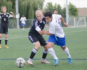 Boys Soccer Benson 2015