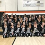 Coed Varsity Dance finishes 1st place at Scappoose Competition