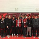 Boys Varsity Wrestling places 4th out of 10 at John Lance Invitational