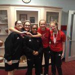 Girls Varsity Wrestling finishes 6th place at Ridgedale Invitational