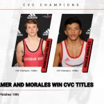 Palmer and Morales Win CVC Titles, State Dual Information