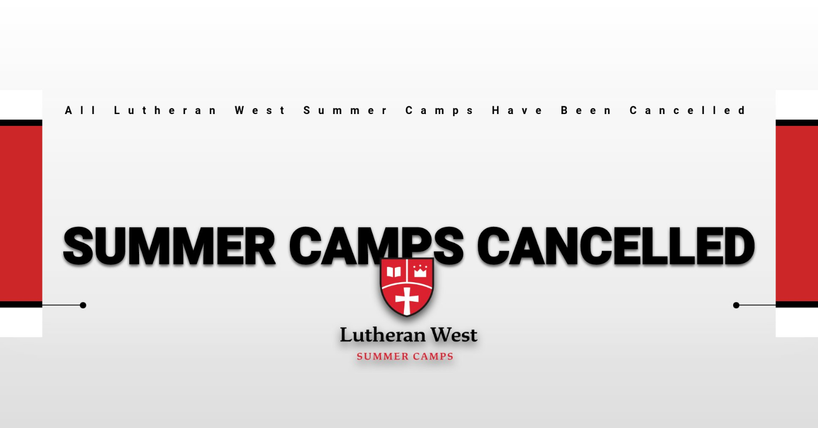 Summer Camps Cancelled