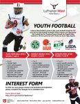 Lutheran West Youth Football Information