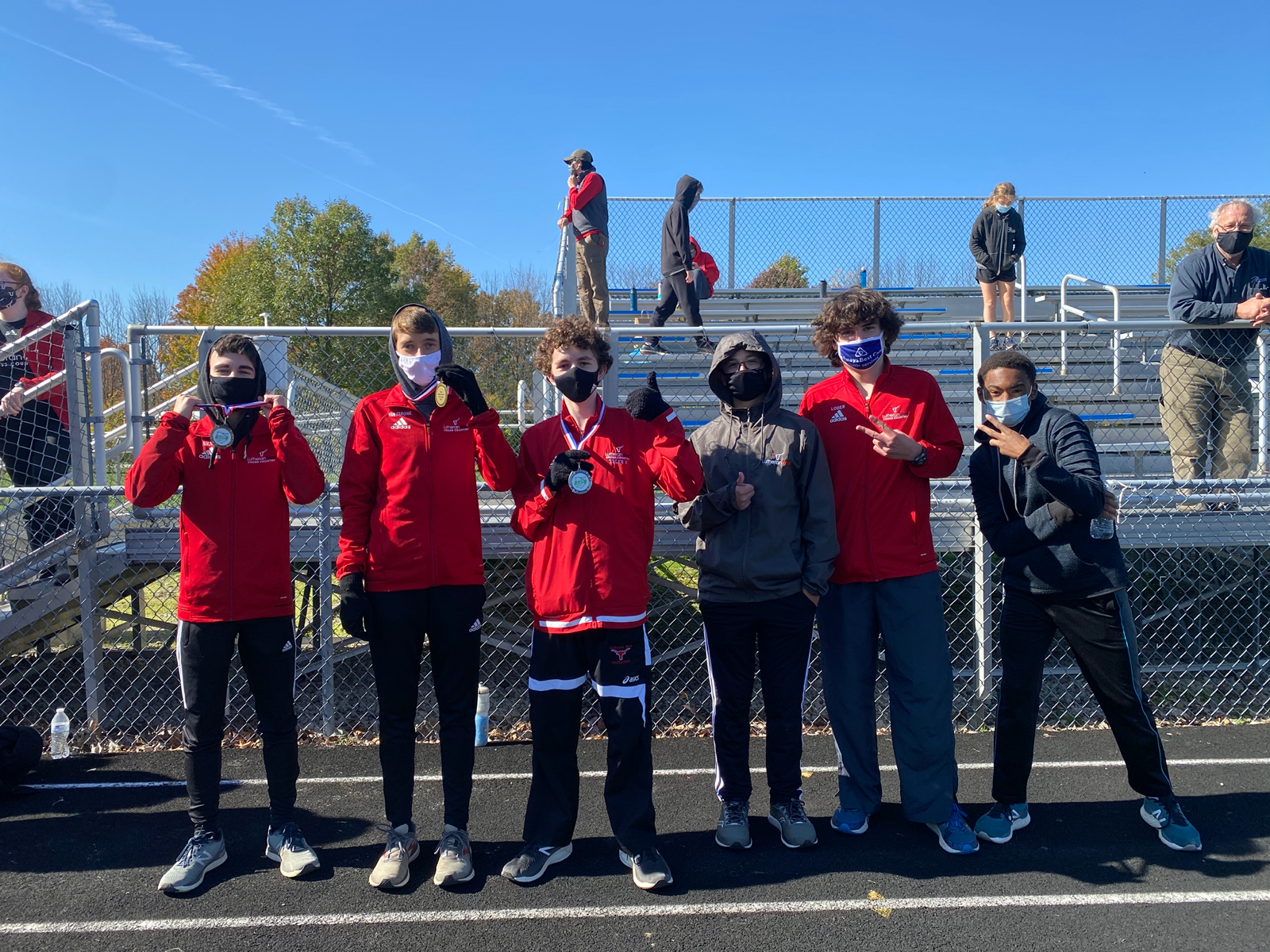 Cross Country Teams Conference Runner-Ups!