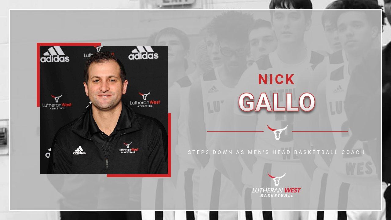 Nick Gallo Steps Down as Men's Head Basketball Coach