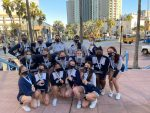 Lady Bears Competitive Cheer Shows Well