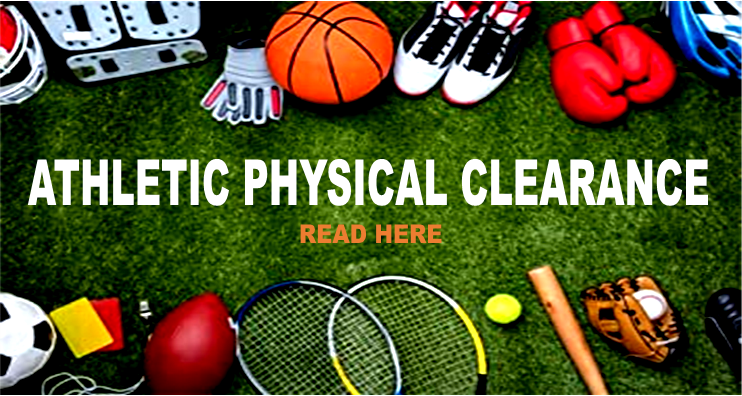 ATHLETIC PHYSICAL CLEARANCE