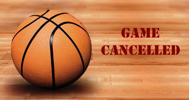 BOYS BASKETBALL GAME CANCELED!