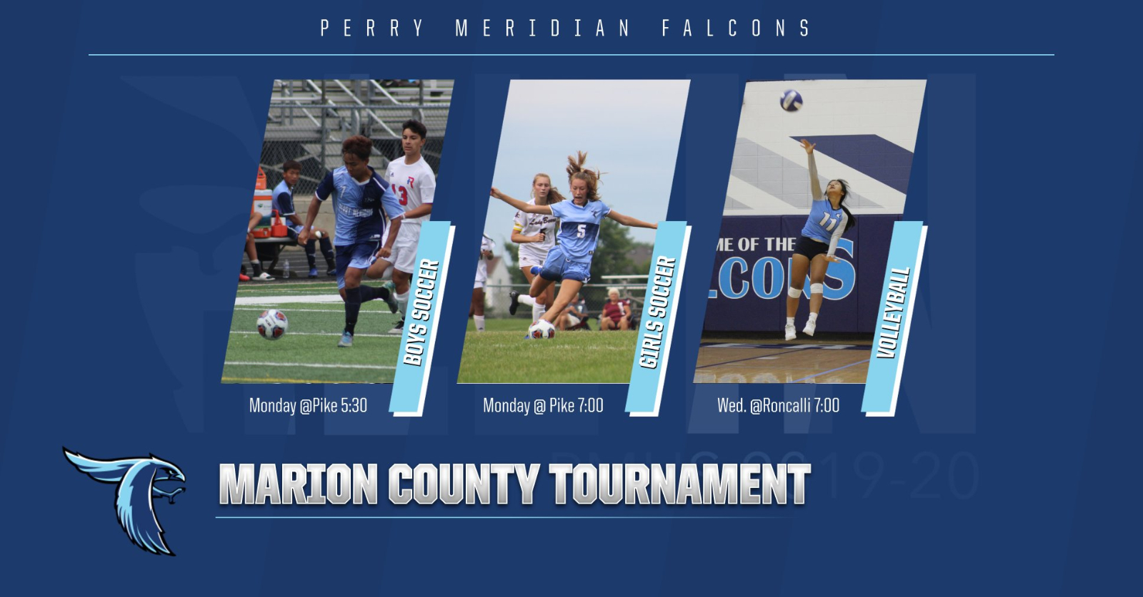 FALCONS look to advance in County Tournaments