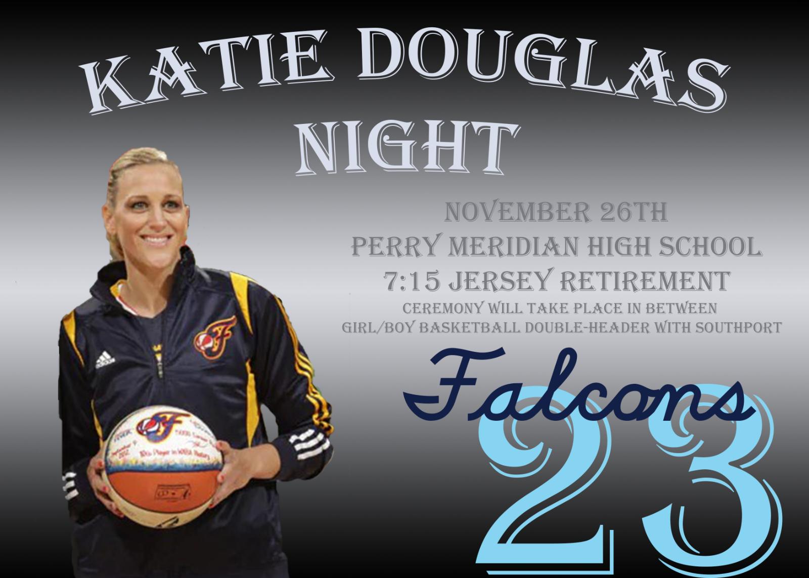 Alumni Katie Douglas to be honored