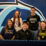 Falcon Winter Signing Ceremony