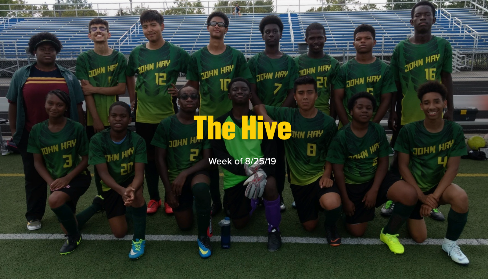 """""""The Hive"""" – The John Hay Weekly Newsletter"""