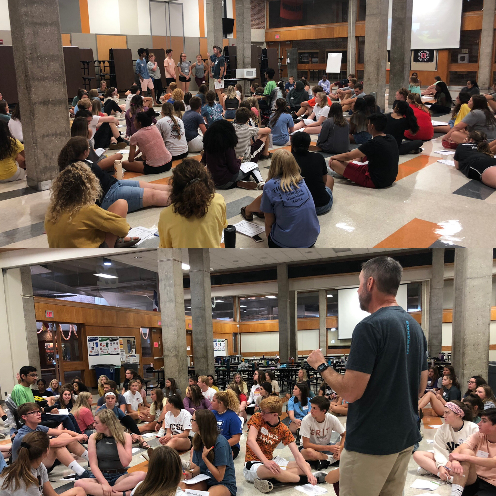 Link Crew Leaders Get Trained, Ready to Welcome Class of 2023