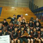 Cougar Grapplers Claim Third at Wyandotte Invitational