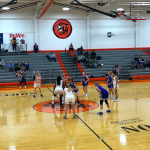 Lady Cougars Knock off #3 Washburn Rural