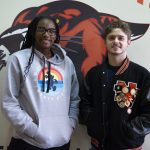 Taylor and Klein Named December Student Athletes of Month