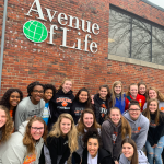 Lady Cougars Volunteer at Avenue of Life