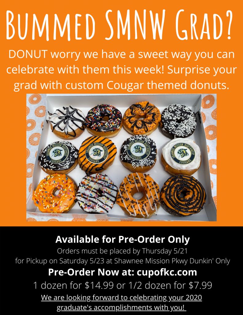 Class of 2020 Dunkin Donuts has a Celebration Deal for You
