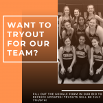 Dance Team 2020-2021 Tryout Update