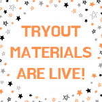 Dance Team Tryout Materials Are Live!