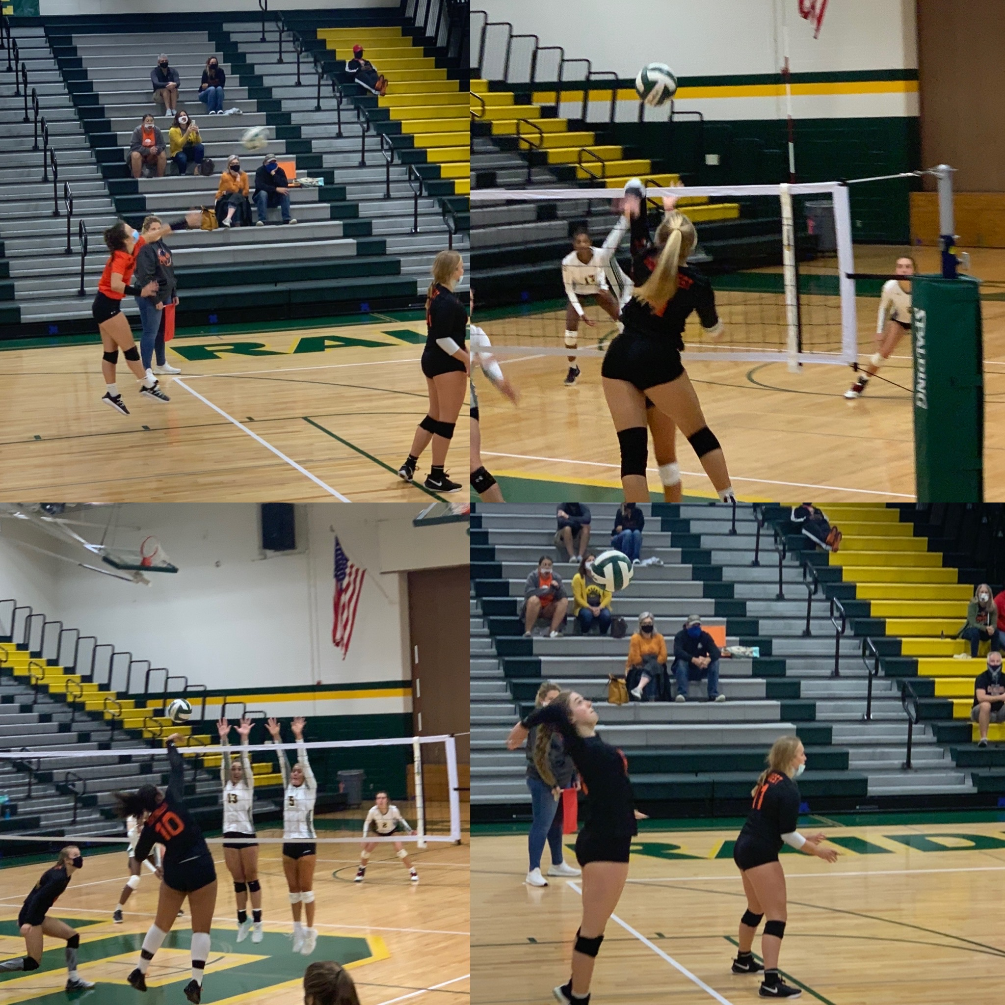 Lady Cougars Sweep SM Quad in Opening Night Action