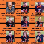 Football Great Season Garnishes Individual Player and Coach Accolades