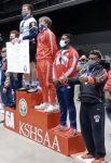Horner-Luettel Finds Podium at 6A Kansas State Wrestling