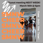 SMNW Cheer Tryouts are right around the Corner