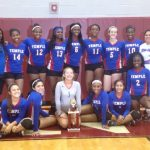 Temple JV Volleyball takes 2nd at Ennis Tourney
