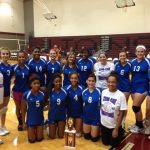 Freshman volleyball teams show well at Ennis Tourney