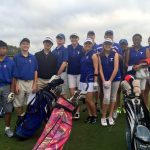 Varsity Girls and JV Boys Golf compete at Cottonwood