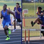Temple Track teams compete at Area Meet on Thursday