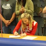 Green signs with the University of the Southwest