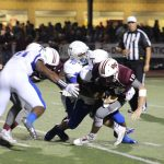 Successful debut: Temple holds off Round Rock for 23-20 win