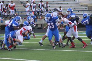 JV White Football vs. Harker Heights