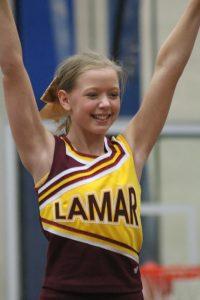 Lil' Wildcat Cheer Camp Participant Stunts