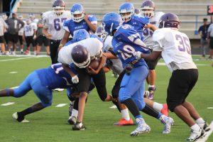 Freshman Blue Football vs. University