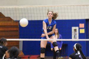 Freshman Blue Volleyball vs. University