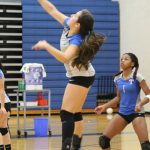 JV Volleyball Sweeps Past University