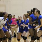 Freshman Blue Volleyball picks up big win at Hutto